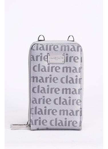 Marie Claire Clutch / El Çantası Gri